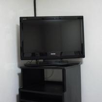 【*全室に設置しました*】32インチ大型液晶テレビ