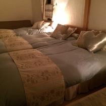 【ハートフェルトルーム】*二部屋をつなげた広々明るいお部屋です*ファミリーやグループにぴったり!