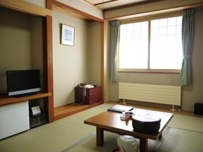 和室6畳 ウォシュレット付トイレ完備