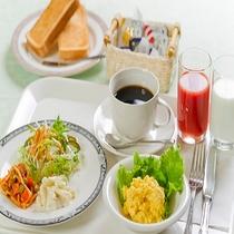ささっと朝食