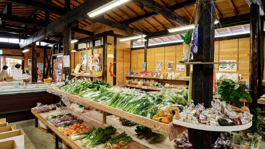 【*くろしおの市】地元でとれた新鮮な野菜がたくさん!