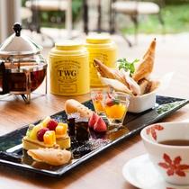 【Garden Cafe】午後のハイティーセット
