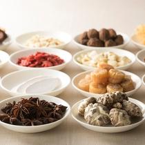 【中国料理「翠亨園」】生薬を取り入れたチャイニーズスパキュイジーヌ(イメージ)