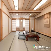 和室は10畳・12.5畳をご用意 小さなお子様がいても安心してお過ごしいただけます