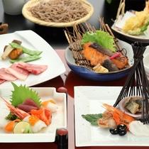 事前予約制 会席料理一例(イメージ)