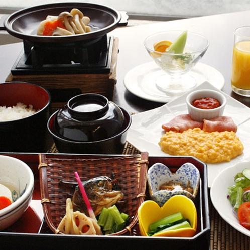【朝食】和洋折衷セットメニュー(イメージ)