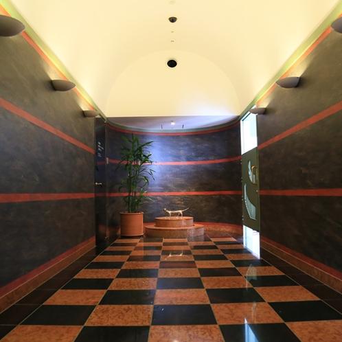 展望浴場入り口