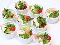 クレソン風味のシーザーサラダ1