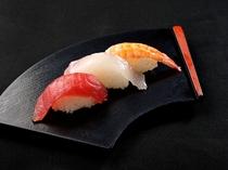 夕食(お寿司)