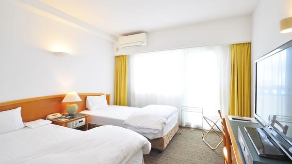◆全室バルコニー付 ツインルーム(18.5平米)