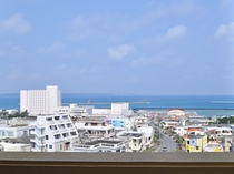 【眺望・海側】高層階はベランダより宮古の海が一望できる