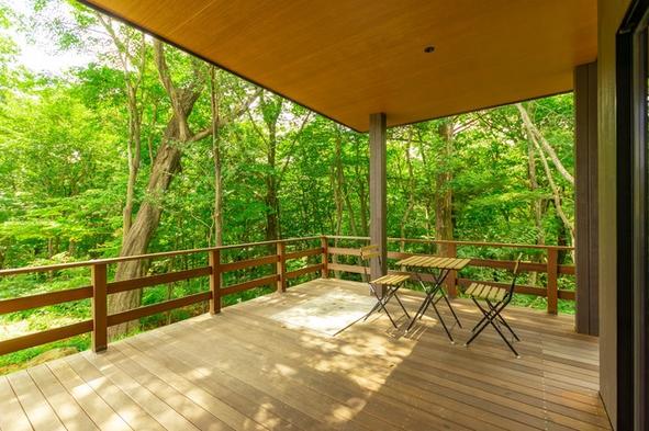 森の緑に溶け込む贅沢な空間♪プライベートガーデンシリーズ2【築浅】【素泊まり】