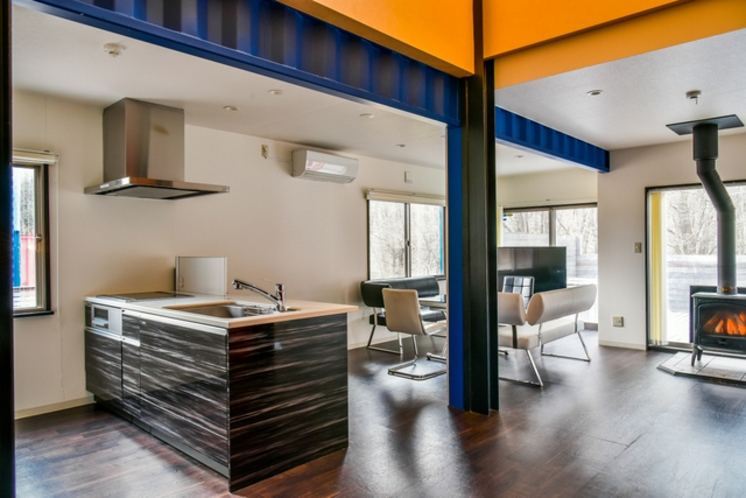 デザイナーズハウスA_キッチン