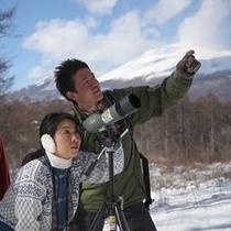 軽井沢、星野エリアのネイチャーガイド『ピッキオ』のネイチャーウォッチング
