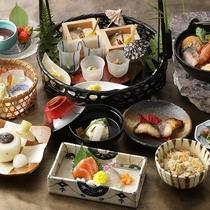 【日本料理やまぼうし】地元素材を中心に、厳選した山川の恵の和会席『一つ星 季節のメニュー』
