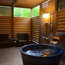 【贅沢リゾート・露天客室】 源泉100%の森の中の露天風呂客室&選べるディナー