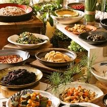 【朝食ブッフェ】心温かになる信州を軽井沢を体感出来る昔ながらのお惣菜