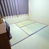 2室限定!リーズナブルな和室。敷き布団は高密度クッション「ブレスエアー」