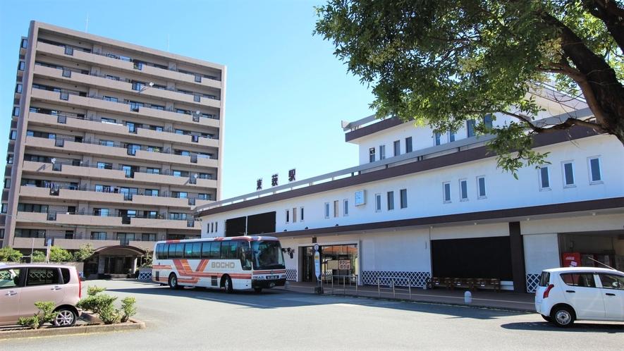 【道順1】東萩駅を出発☆
