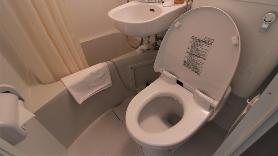 【客室トイレ】温水洗浄便座