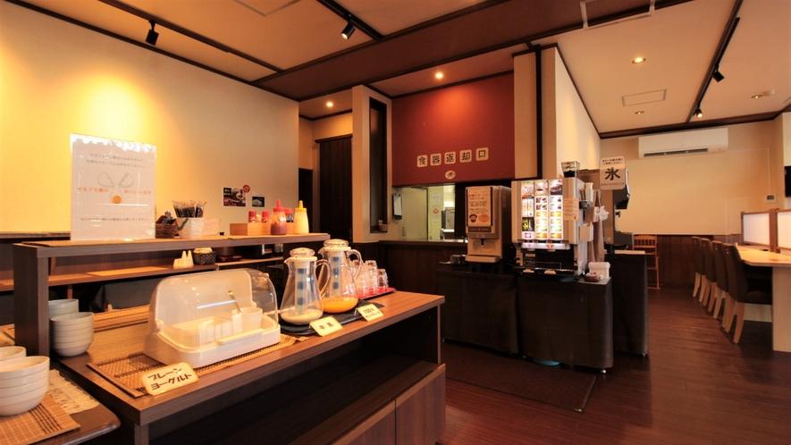 【朝食会場】おはようございます♪朝ごはんのお時間です!