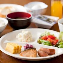 朝食盛り合わせ~一例です