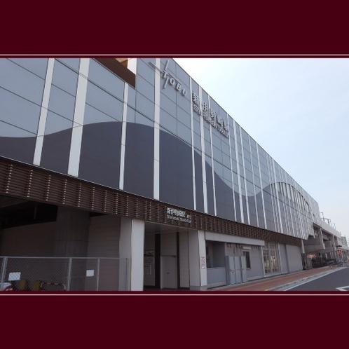東武伊勢崎線「新伊勢崎駅」東口