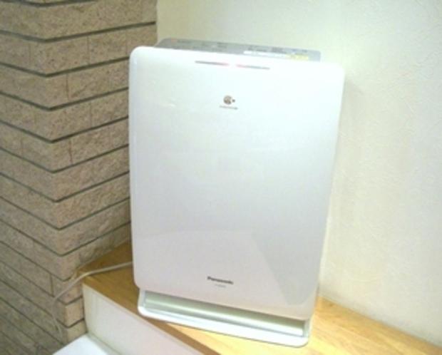 空気清浄機・・ナノイー全室設置/室内空気を24時間除菌・消臭!衣服の消臭などにリフレッシュ機能付き!