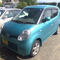レンタカー(軽自動車)『moco』