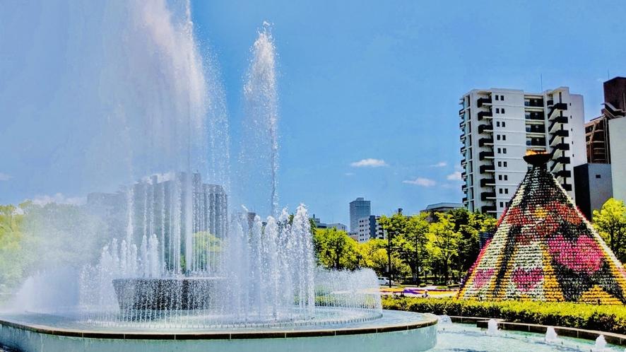 ◇平和記念公園◇広島駅から路面電車で16分
