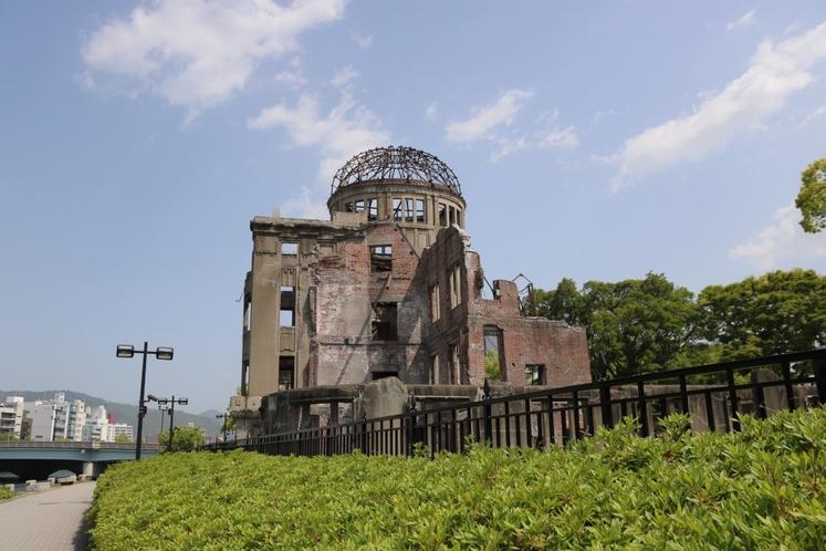 ◇原爆ドーム◇広島駅から路面電車で20分
