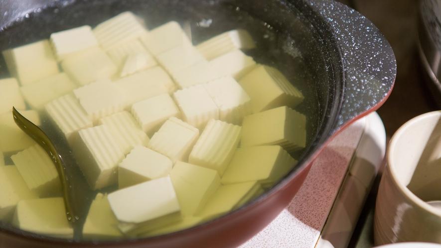 朝食(豆腐)