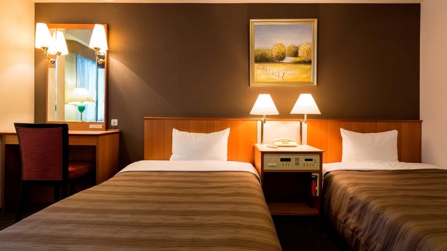 ツインルーム(20平米 ベッド幅110㎝)