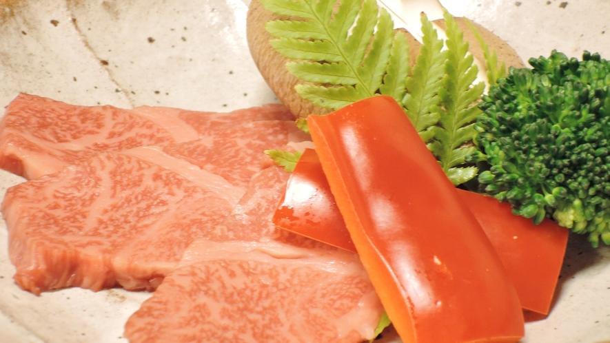 *【夕食一例】鉄板焼き(新館限定)