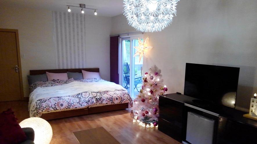 *新館客室さくら・クリスマス仕様♪大切なひとときをお過ごしください