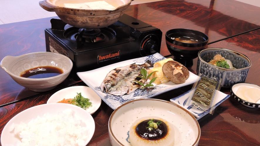 *【朝食一例】和定食