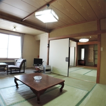 *和室16畳一例/ファミリー、グループの観光利用にお勧めの広々としたお部屋。