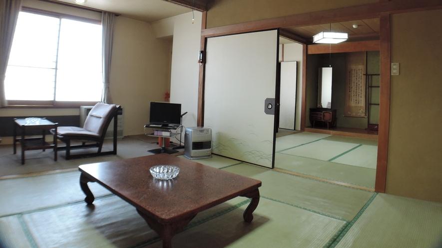 *和室16畳一例/ファミリー、グループの観光利用にお勧めの広々としたお部屋。室