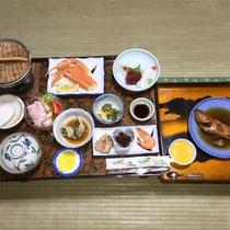 *夕食一例/漁師町ならではの磯料理をお楽しみください。※10品~12品コース一例