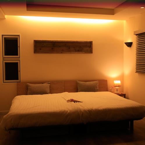 2階ベッドルーム 胡桃