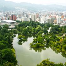 中島公園側