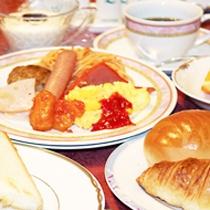 朝食【洋食一例】