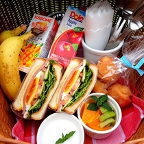 *【朝食一例】皆様のお気に入り場所にてお召し上がり下さい!