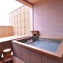 【客室一例】特別和洋室(展望風呂付き)の展望風呂