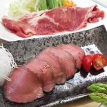 【夕食一例】伯耆会席(2017年・秋)大山牛や大山ハーブ鶏を使用したお肉欲張り会席♪