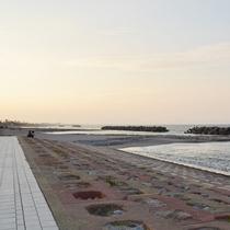 【*皆生海水浴場】当館から徒歩10分。透...