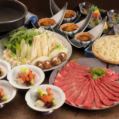 料理長厳選 柔らか牛肉と新鮮野菜のすき焼き【牛すき焼き】