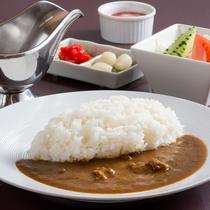 オリジナルビーフカレー※プラス料金(税別)で別のご夕食をお選びいただくことができます。