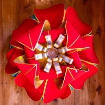 ■花笠のオブジェ