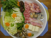 夕食(鍋)